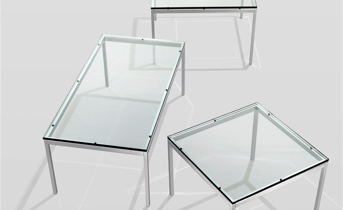 florence knoll rectangular coffee table - hivemodern