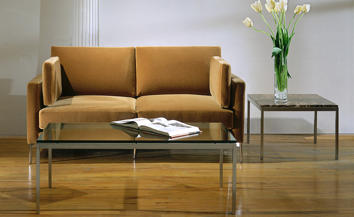 florence knoll rectangular coffee table. Black Bedroom Furniture Sets. Home Design Ideas