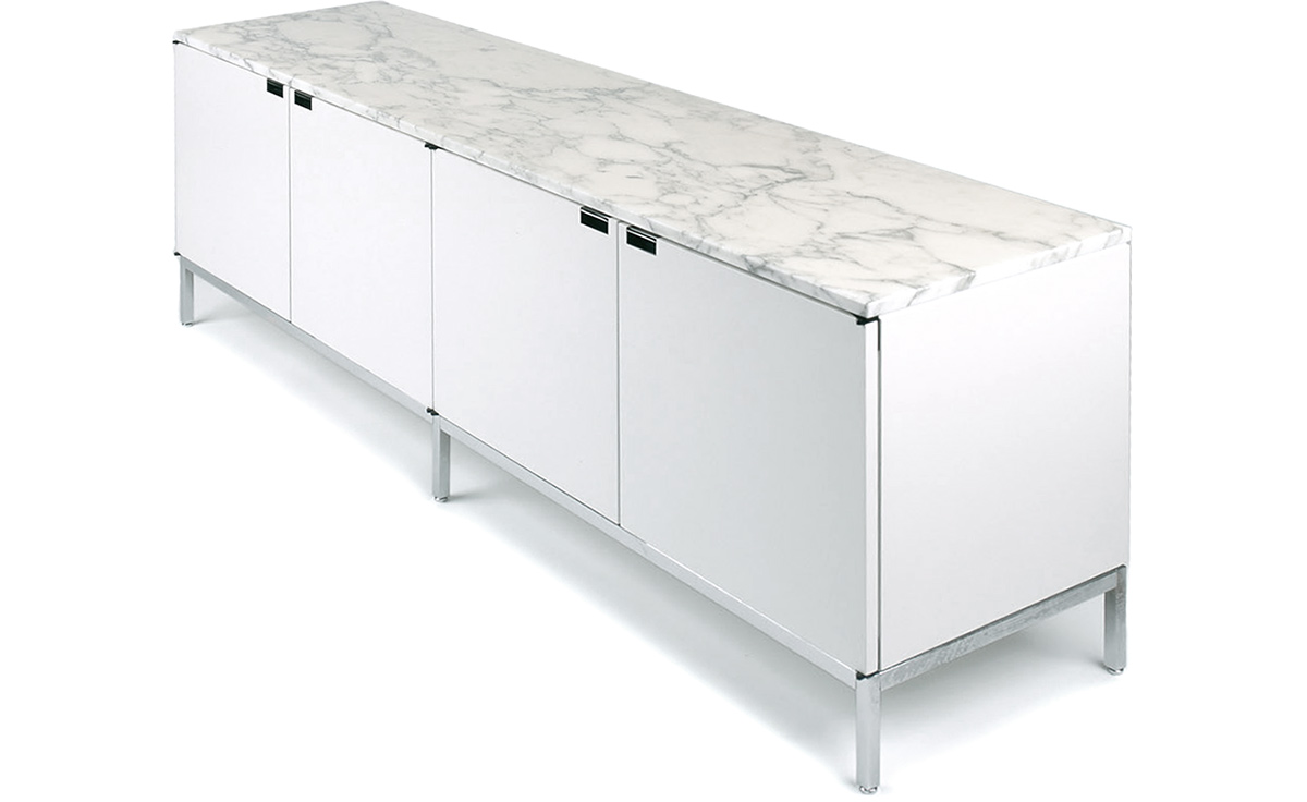 florence knoll  position credenza with cabinets  hivemoderncom - overview