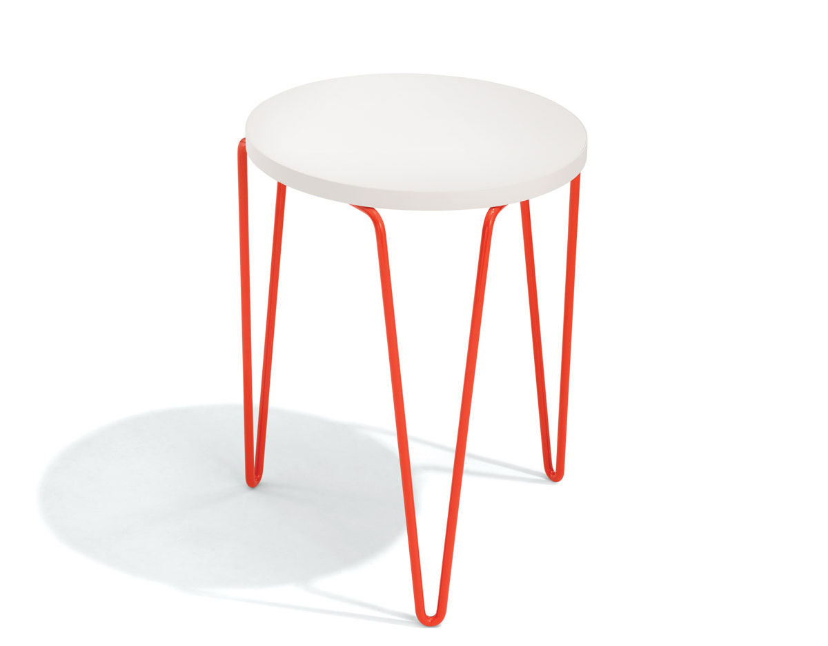 Florence Knoll Hairpin Stacking Table Hivemodern Com