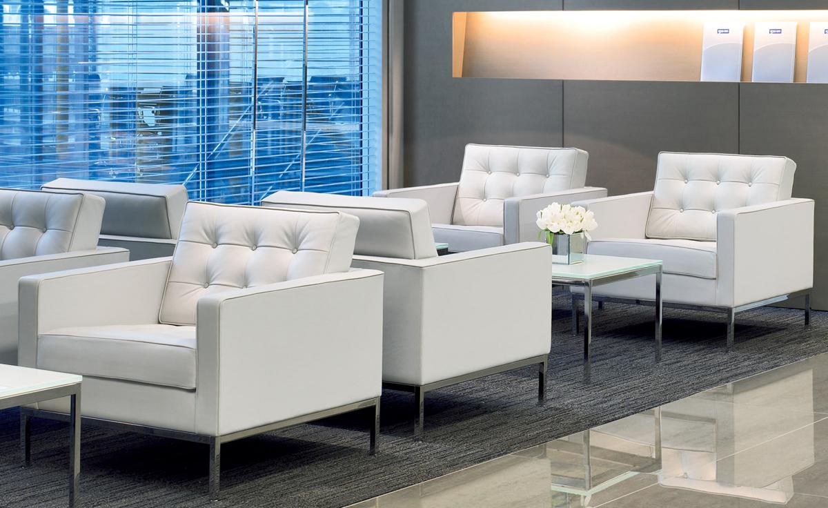 Florence Knoll Lounge Chair Hivemodern Com