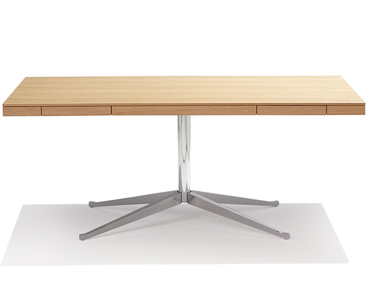 florence knoll model  executive desk  hivemoderncom - overview