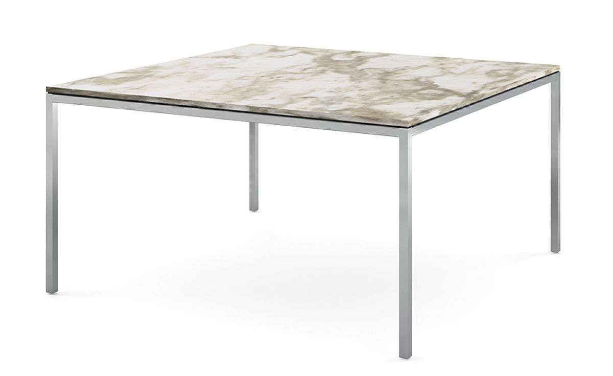 Florence knoll square dining table hivemodern florence knoll square dining table watchthetrailerfo