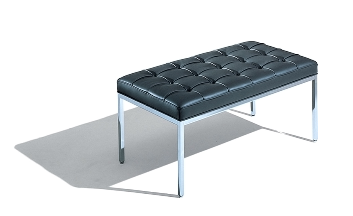 Florence Knoll Two Seat Bench - hivemodern.com