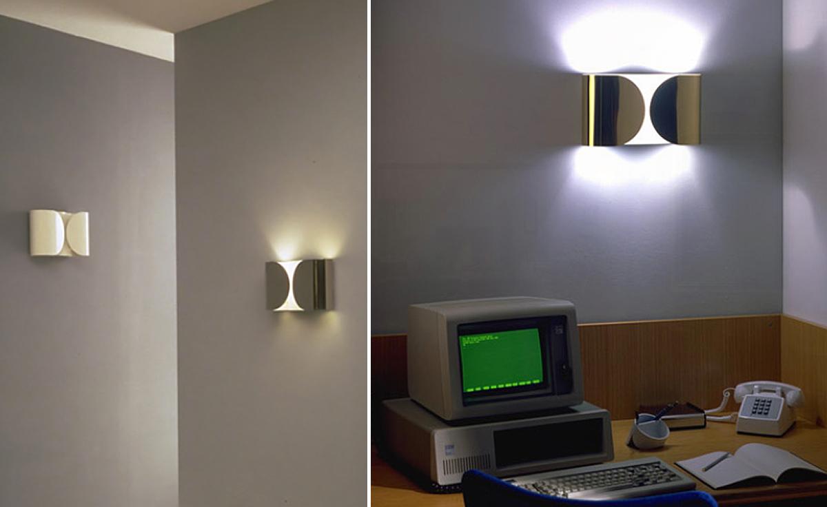 Foglio incandescent wall lamp hivemodern foglio incandescent wall lamp aloadofball Gallery