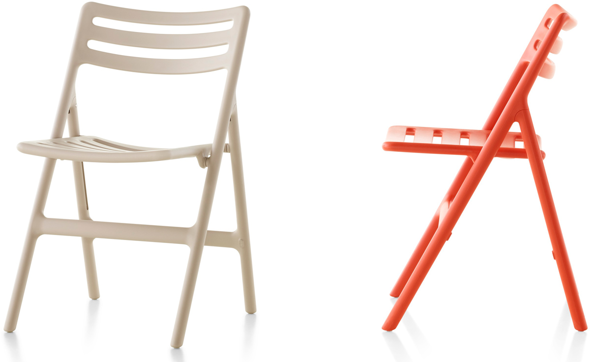 Magis Folding Air Chair Two Pack
