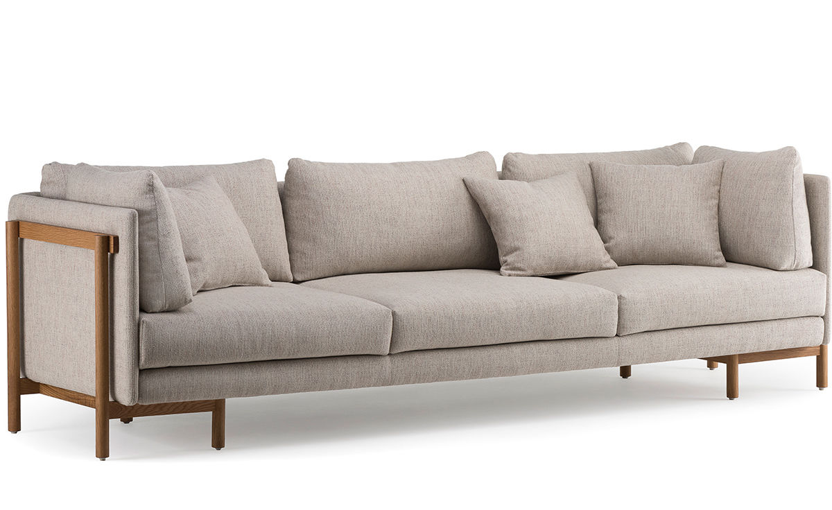 Frame Long Sofa With Arms 766la Hivemodern Com