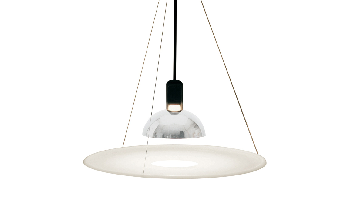 Frisbi suspension lamp for Suspension designer