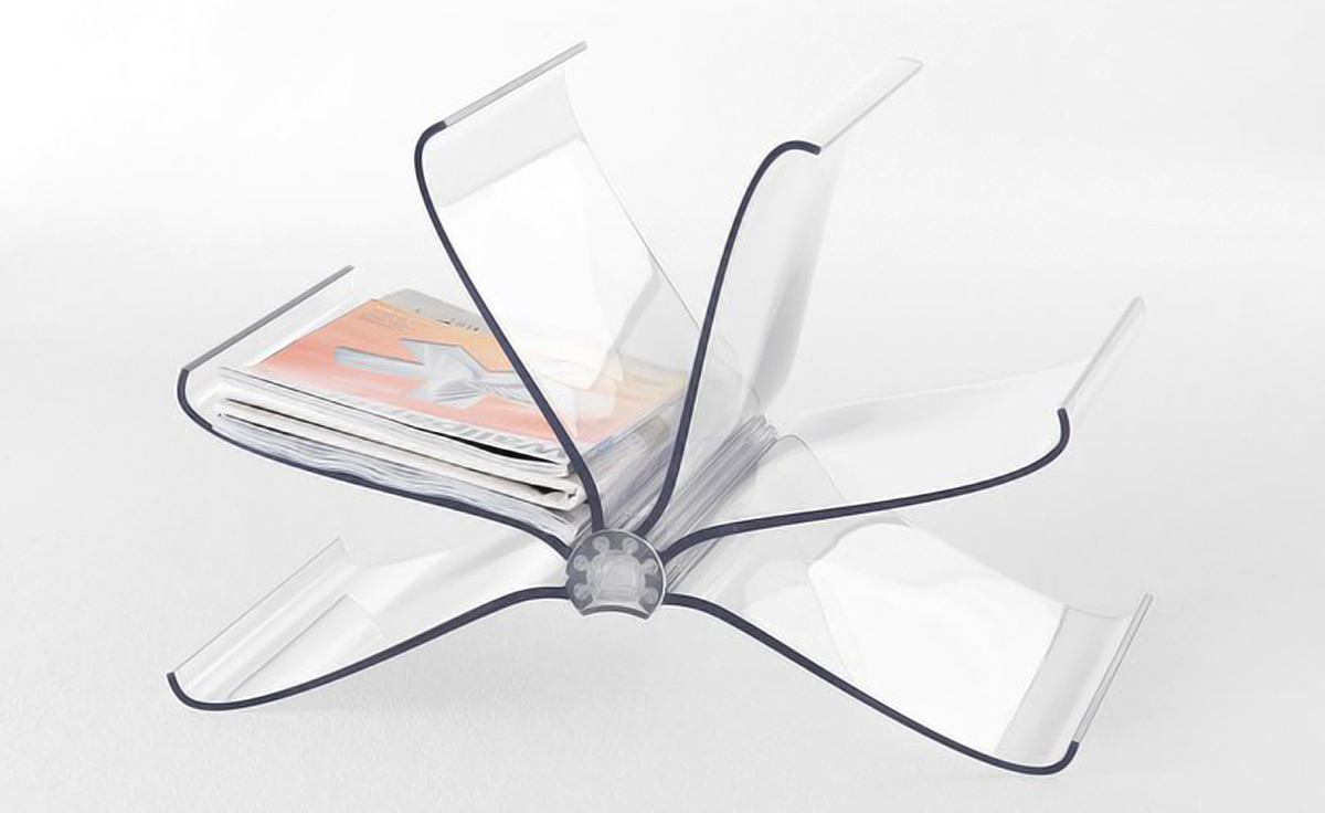 front page magazine rack  hivemoderncom - overview manufacturer media reviews