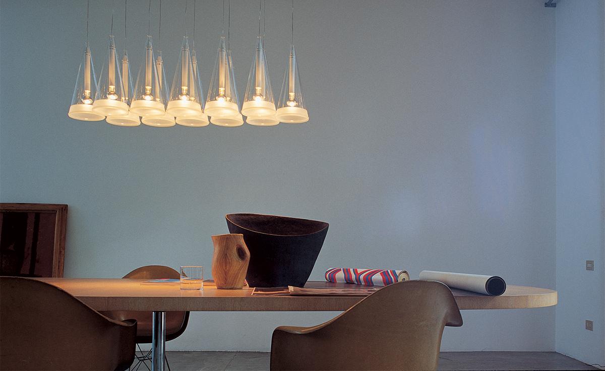 fucsia 12 suspension lamp. Black Bedroom Furniture Sets. Home Design Ideas