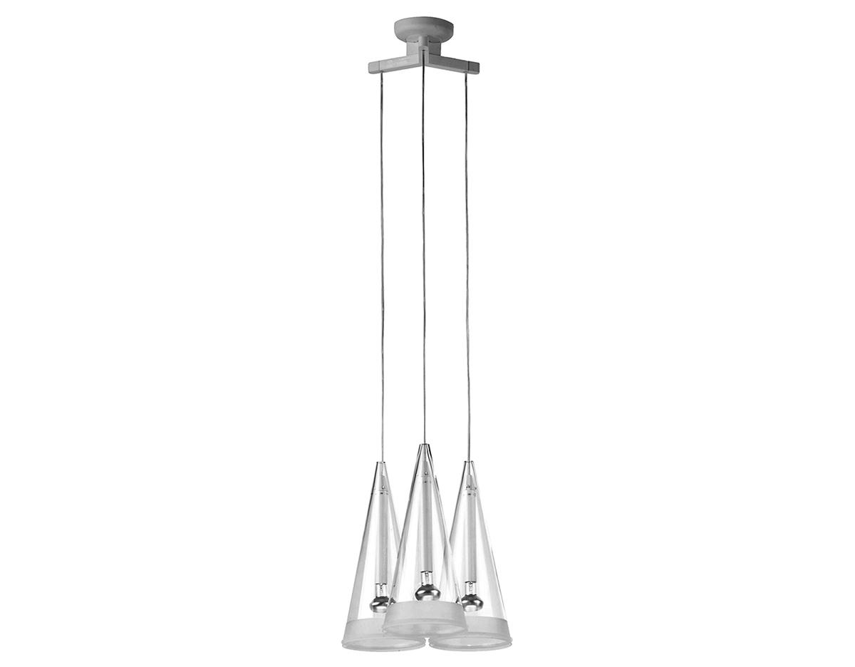 Fucsia 3 pendant lamp for Castiglioni light