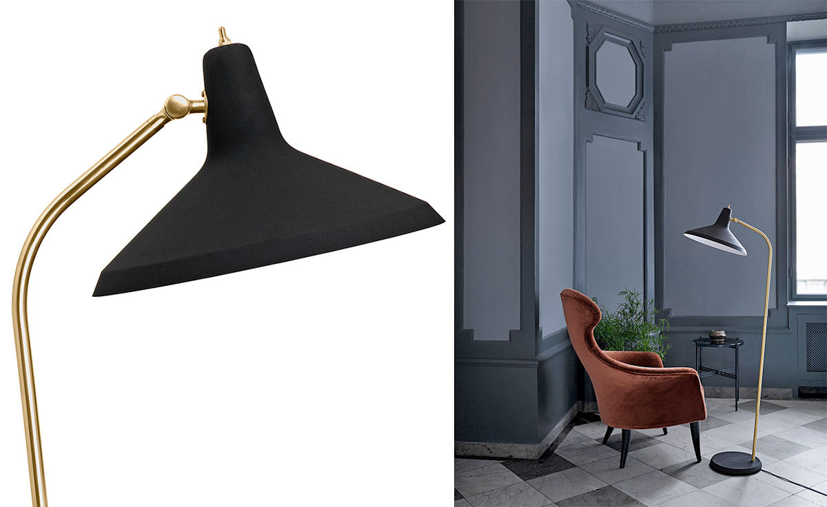 Greta Grossman G10 Floor Lamp Hivemodern Com