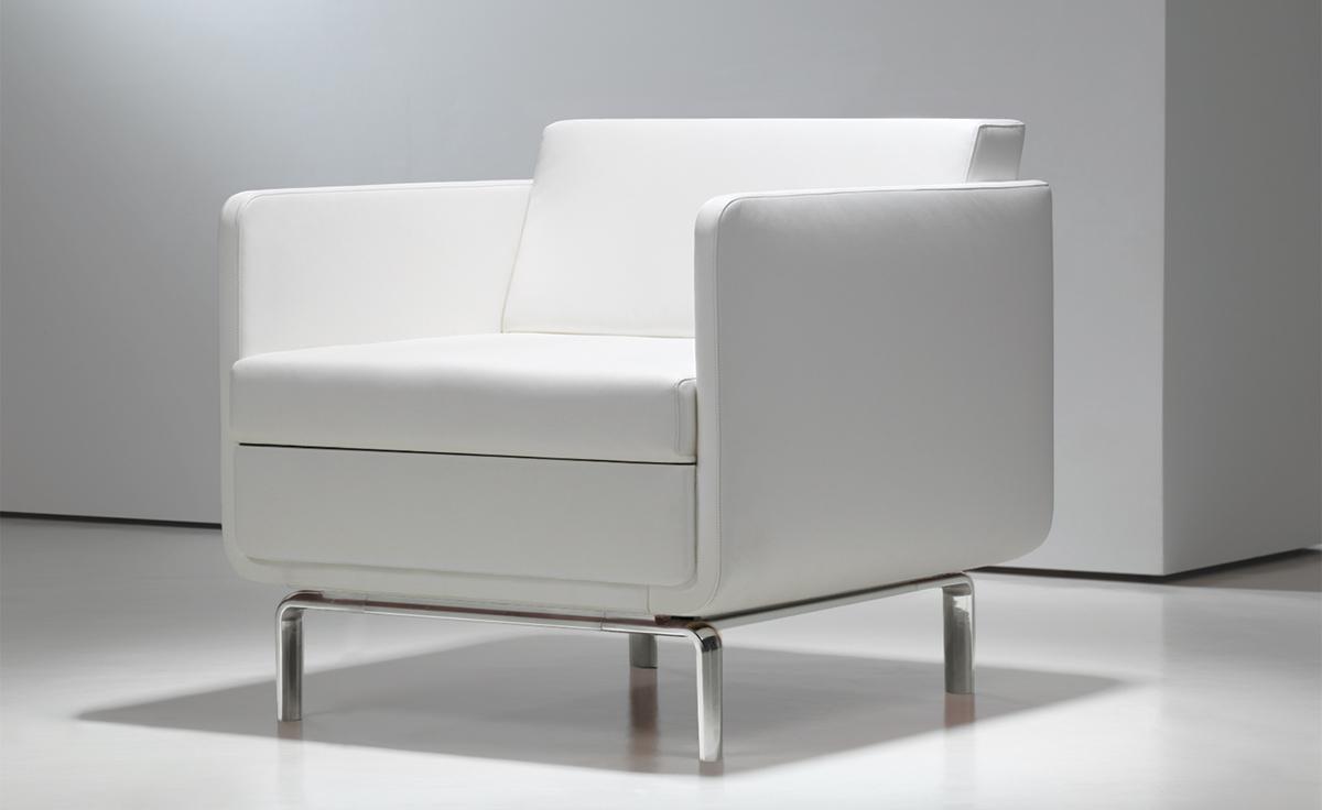 gaia high-arm lounge chair