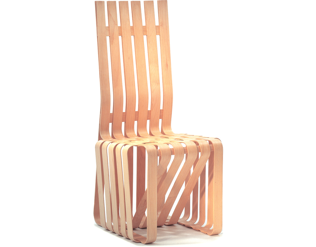 gehry high sticking chair hivemodern