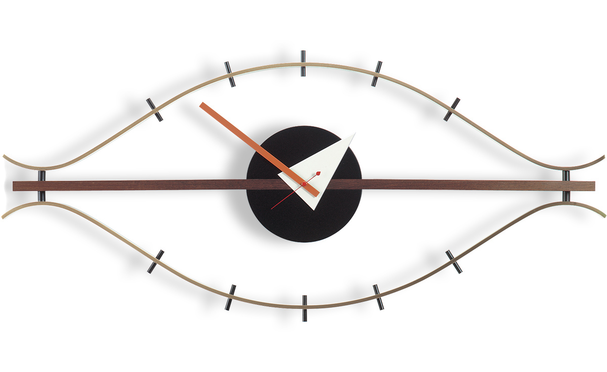 george nelson eye clock  hivemoderncom - overview