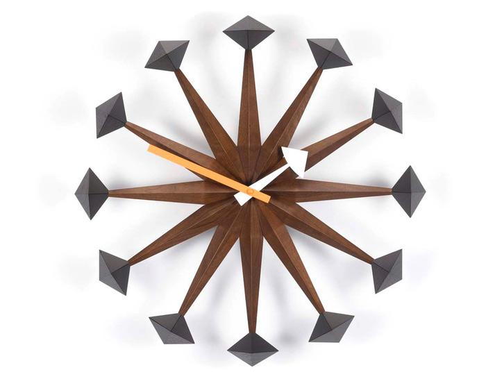 George Nelson Polygon Wall Clock