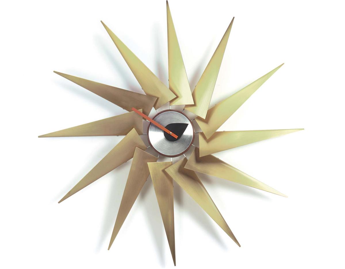 george nelson turbine clock  hivemoderncom - overview