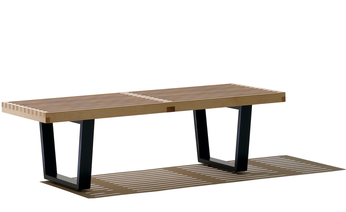 George Nelson Slat Bench Dimensions Benches