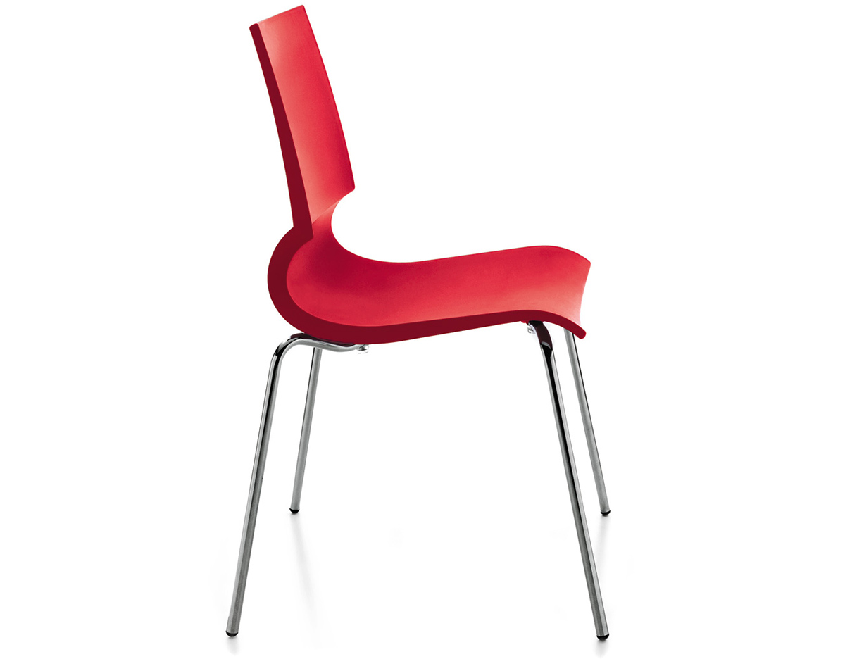 Gigi Stacking Side Chair Hivemodern Com