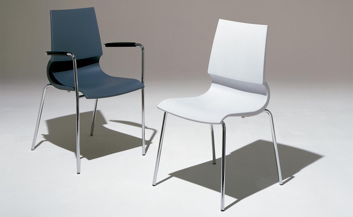 Genial Gigi Stacking Side Chair