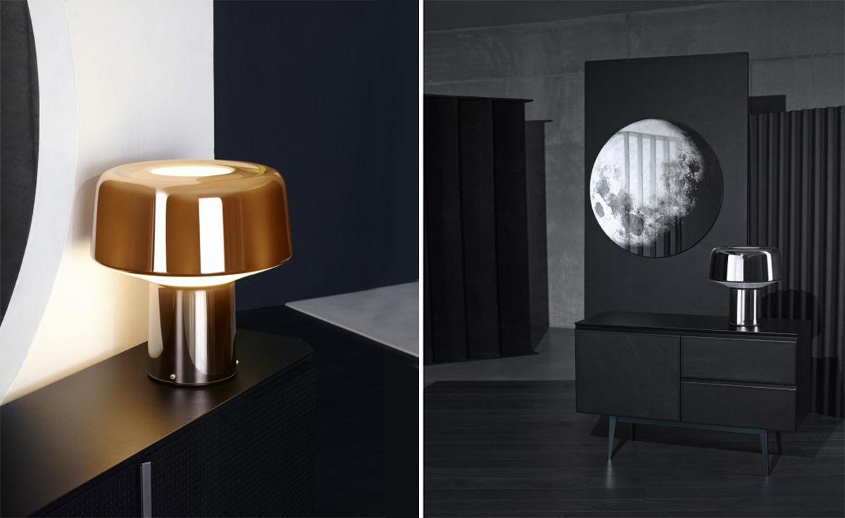 Glass Drop Table Lamp - hivemodern.com
