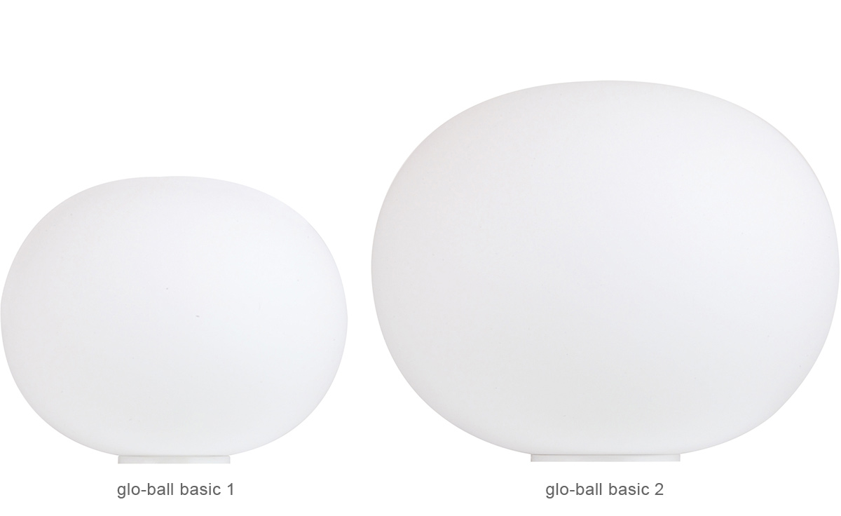 glo ball basic table lamp. Black Bedroom Furniture Sets. Home Design Ideas