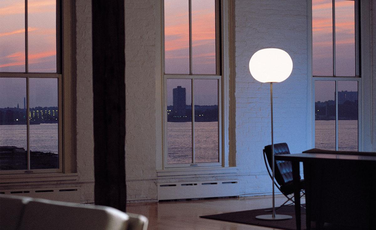 Glo Ball Floor Lamp Hivemodern Com