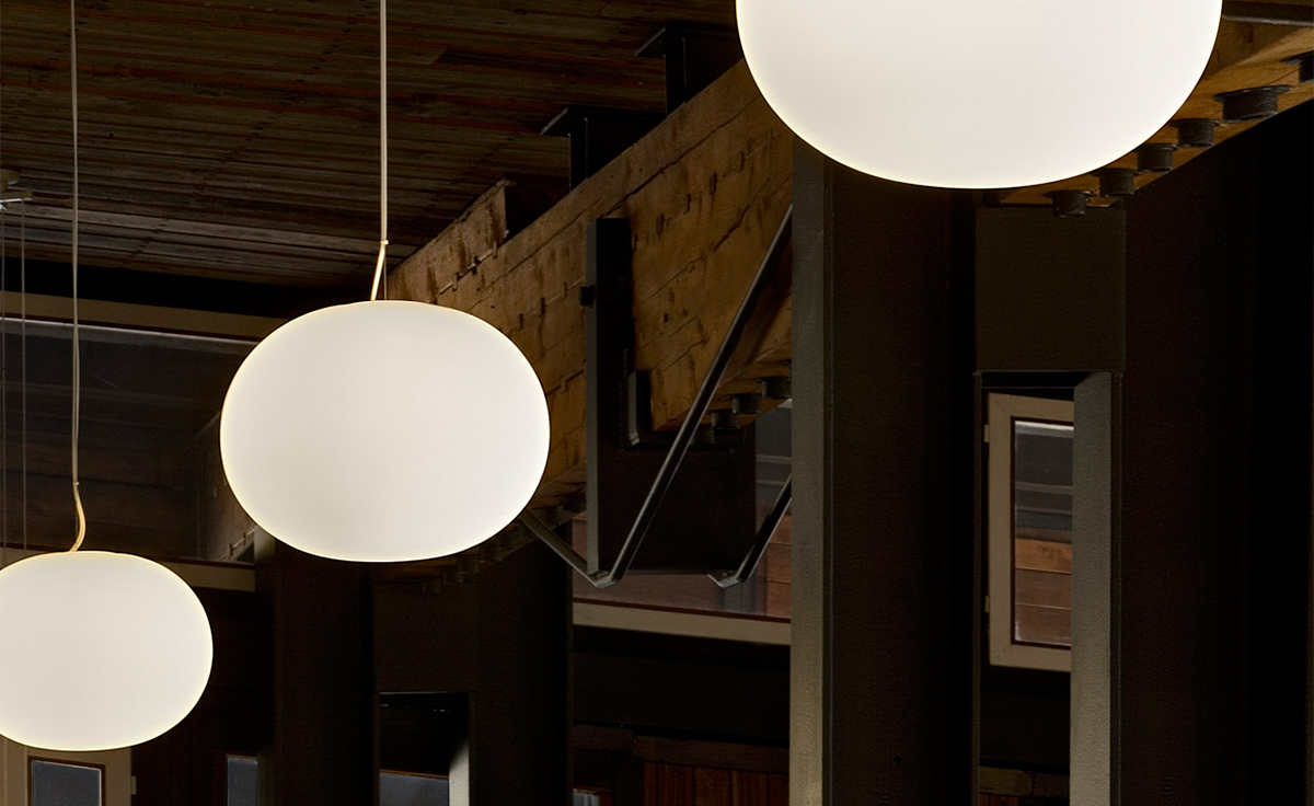 glo ball pendant lamp. Black Bedroom Furniture Sets. Home Design Ideas