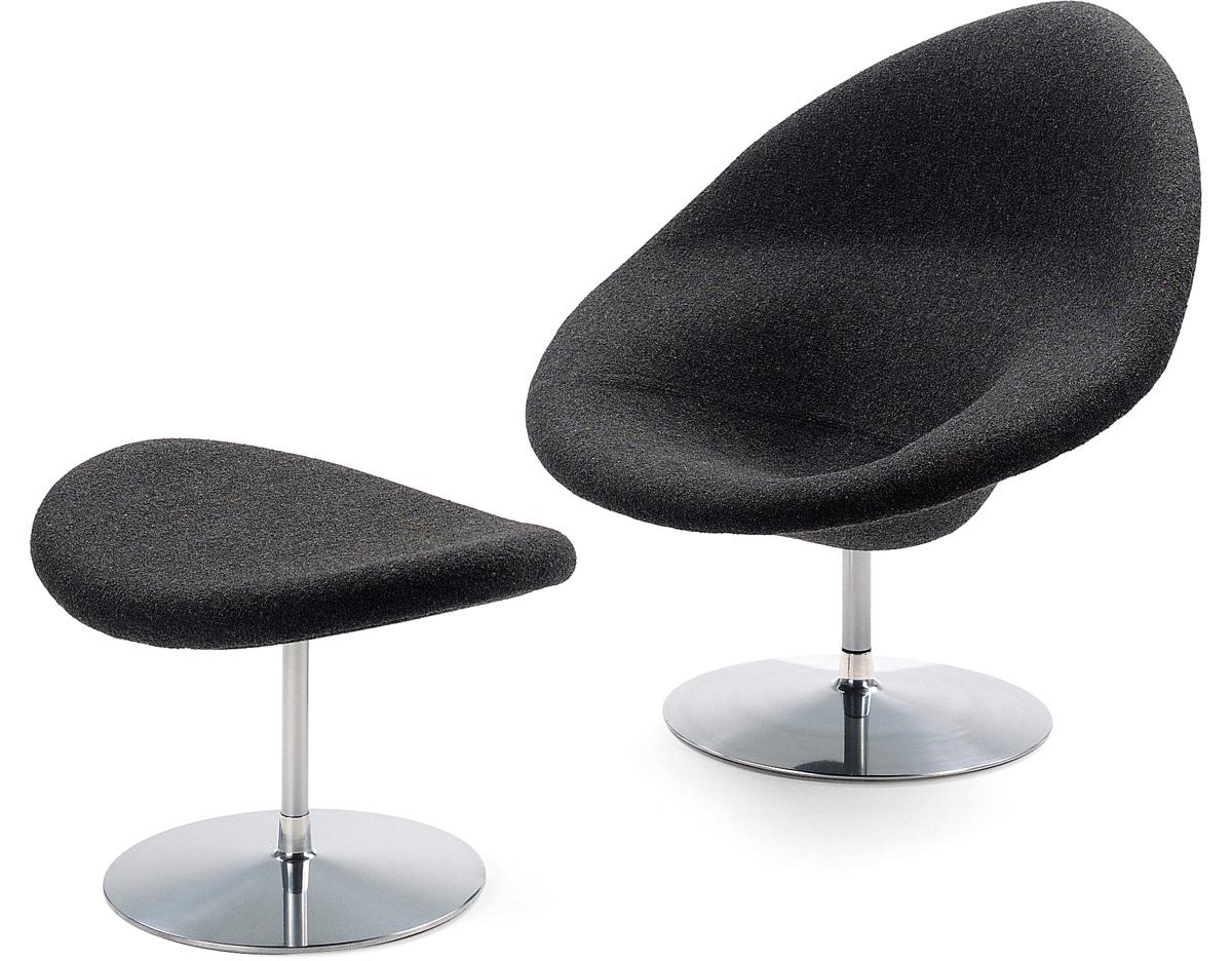 Globe Lounge Chair U0026 Ottoman