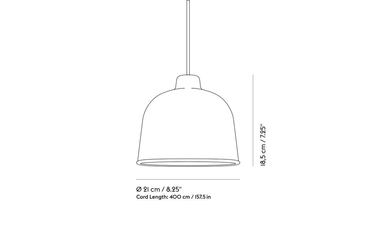Grain Pendant Lamp Hivemodern Com