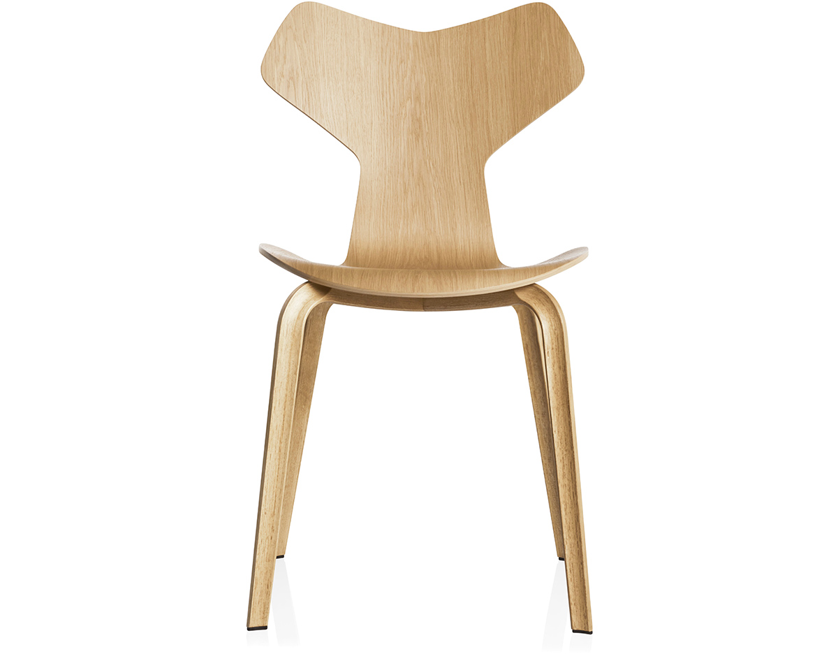 Grand Prix Chair With Wood Legs Hivemodern Com