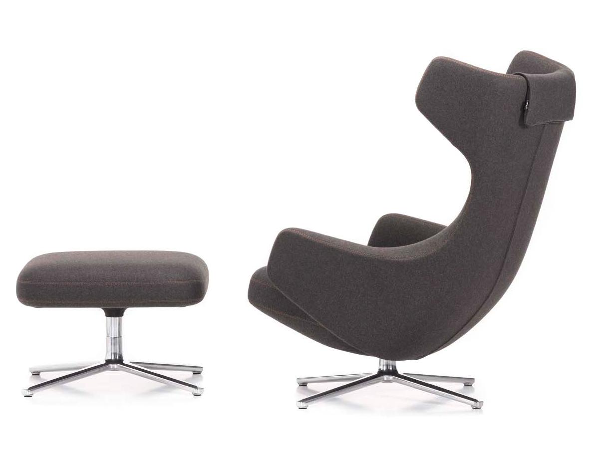 Grand Repos Lounge Chair Amp Ottoman Hivemodern