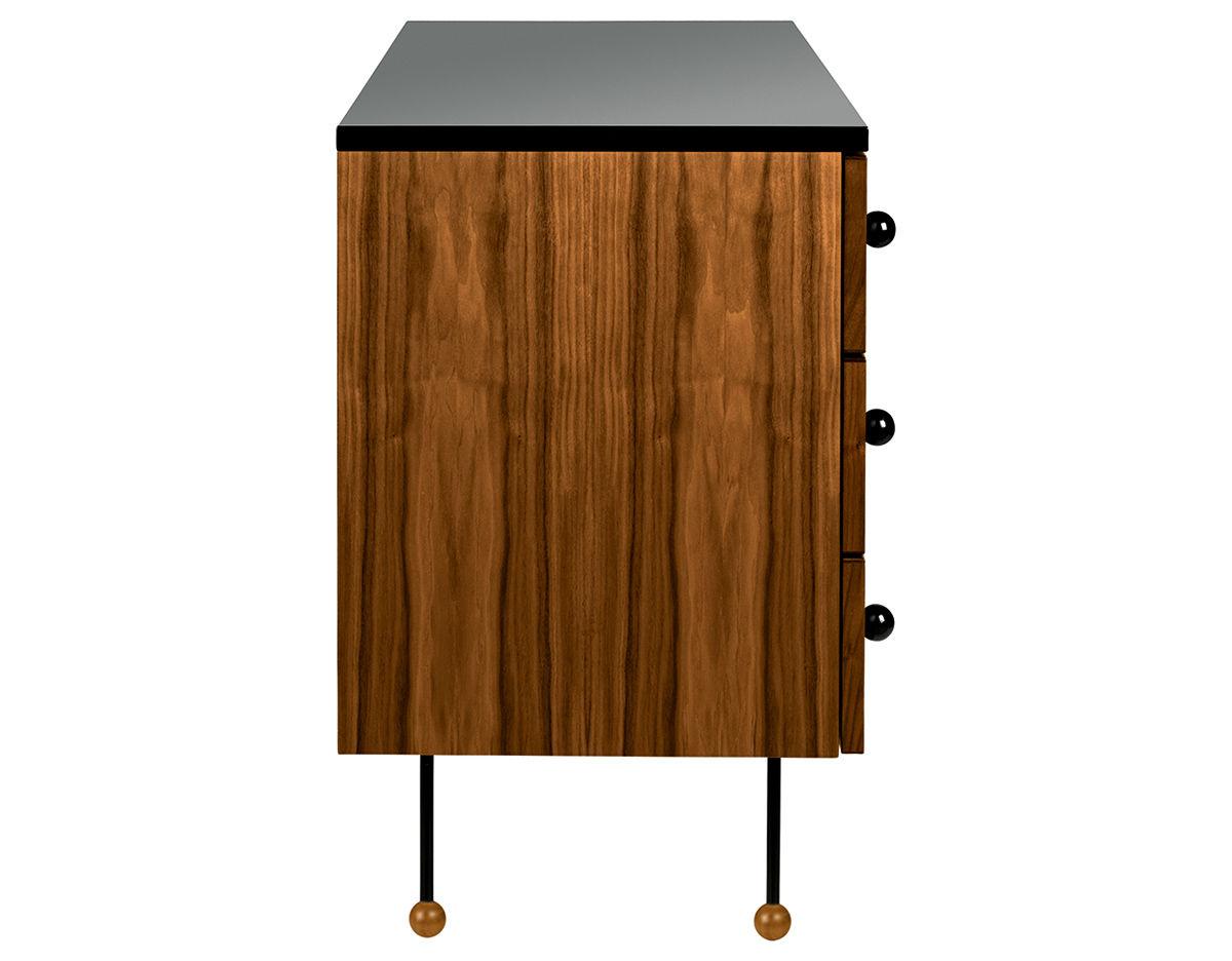 Greta grossman series 62 three drawer dresser hivemodern overview manufacturer media reviews geotapseo Gallery