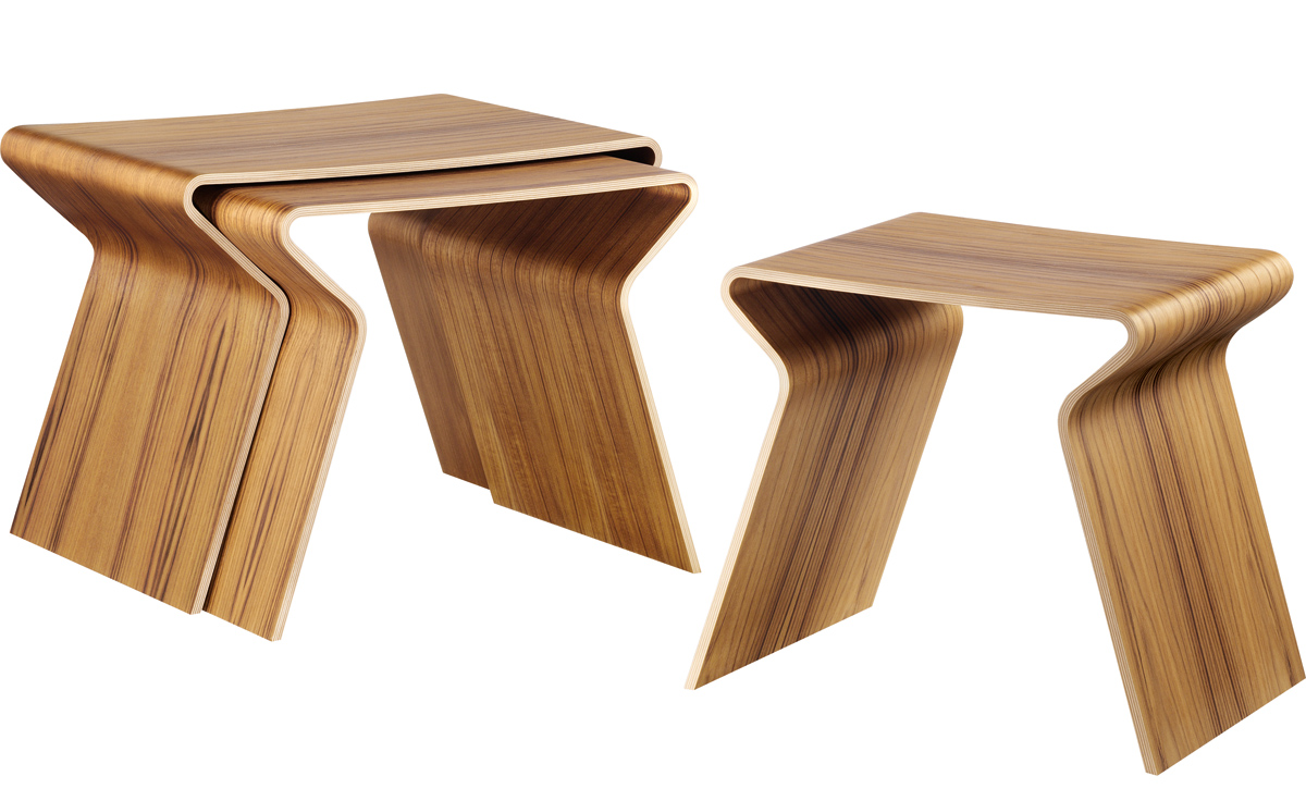 Nesting Tables grete jalk gj nesting tables - hivemodern