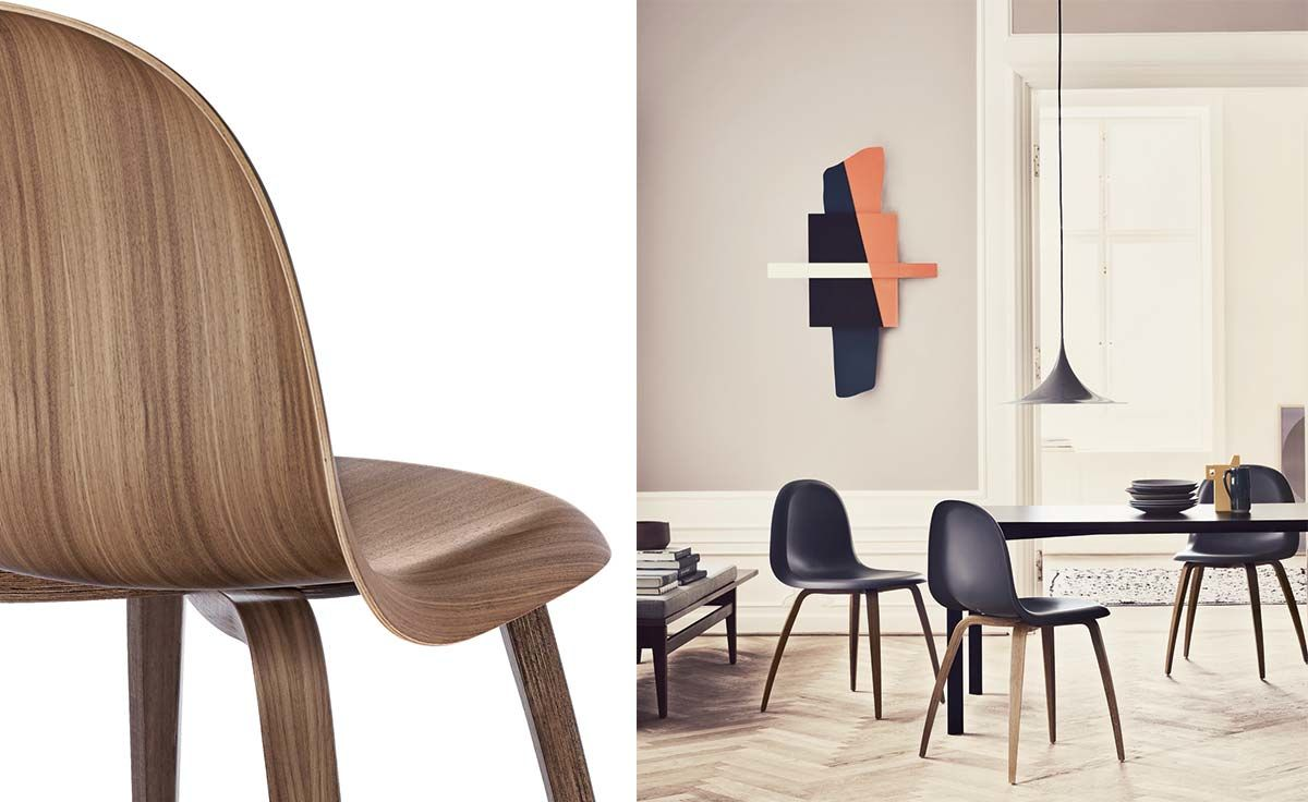 Gubi 3d Wood Base Chair Hivemodern Com