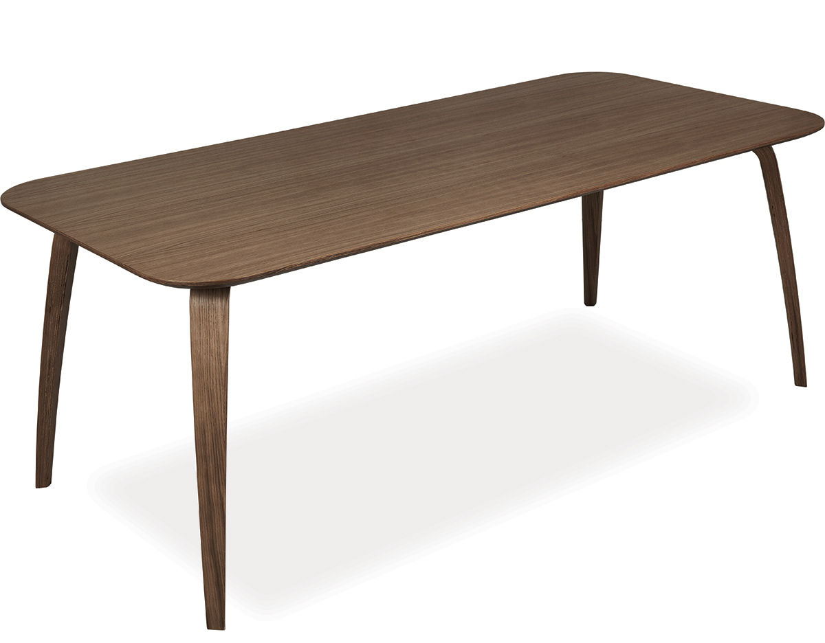 Gubi rectangular dining table for Square dining table designs