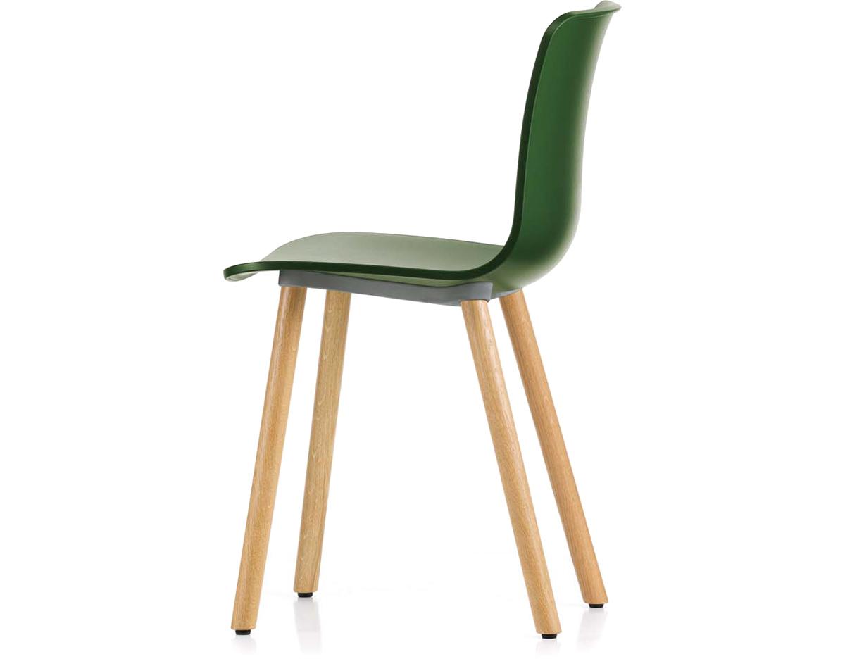 hal wood side chair. Black Bedroom Furniture Sets. Home Design Ideas