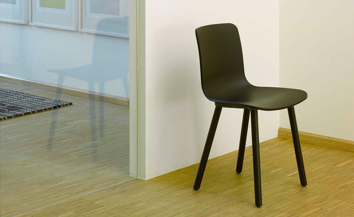 Hal Wood Side Chair Hivemodern Com