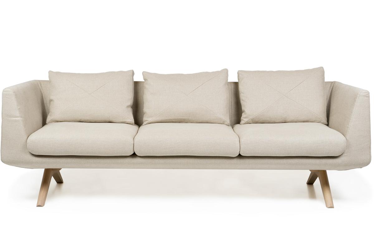 Hepburn Fixed 3 Seater Sofa 350fm Hivemodern Com