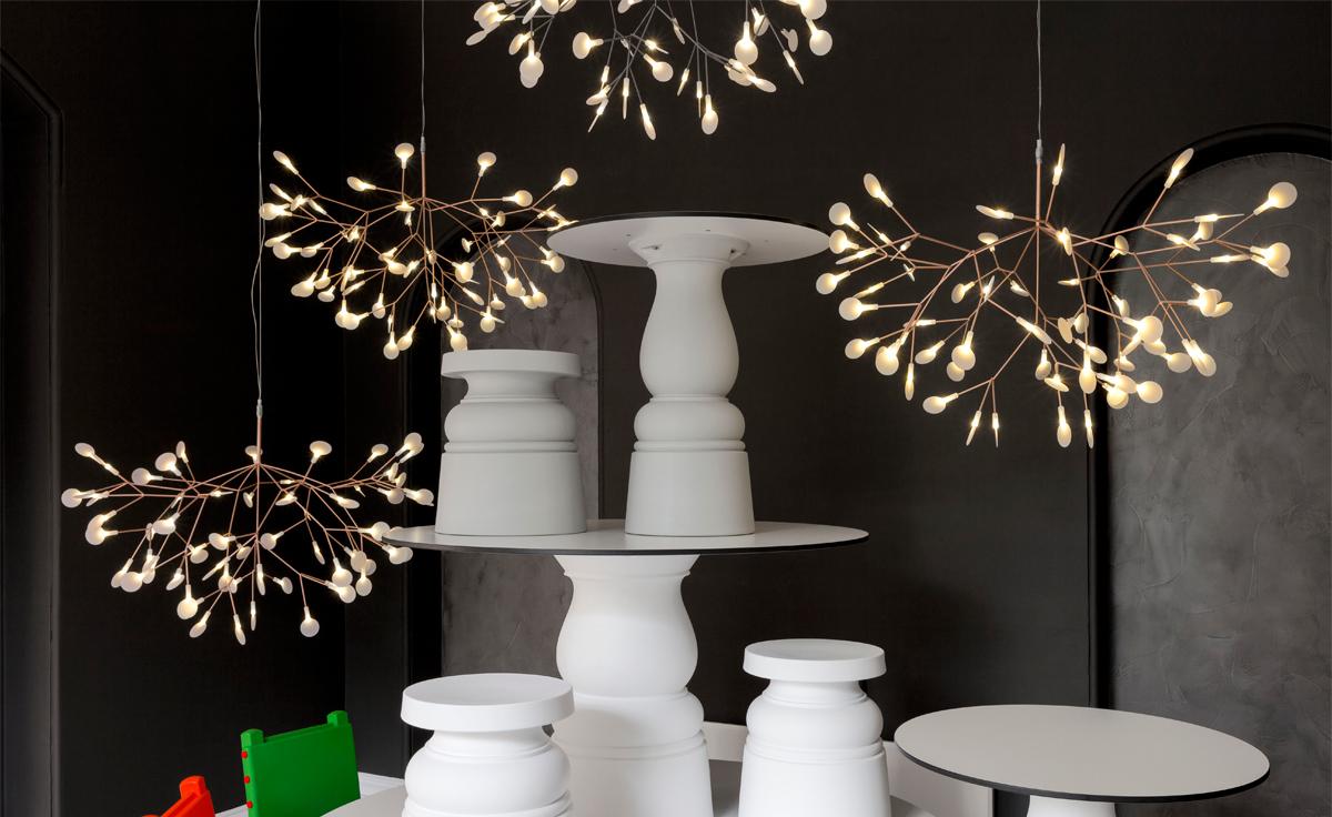 heracleum suspension light. Black Bedroom Furniture Sets. Home Design Ideas