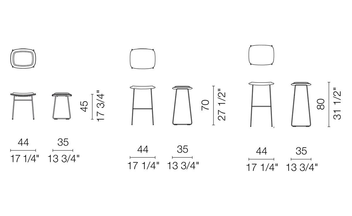 Peachy Hi Pad Stool Squirreltailoven Fun Painted Chair Ideas Images Squirreltailovenorg