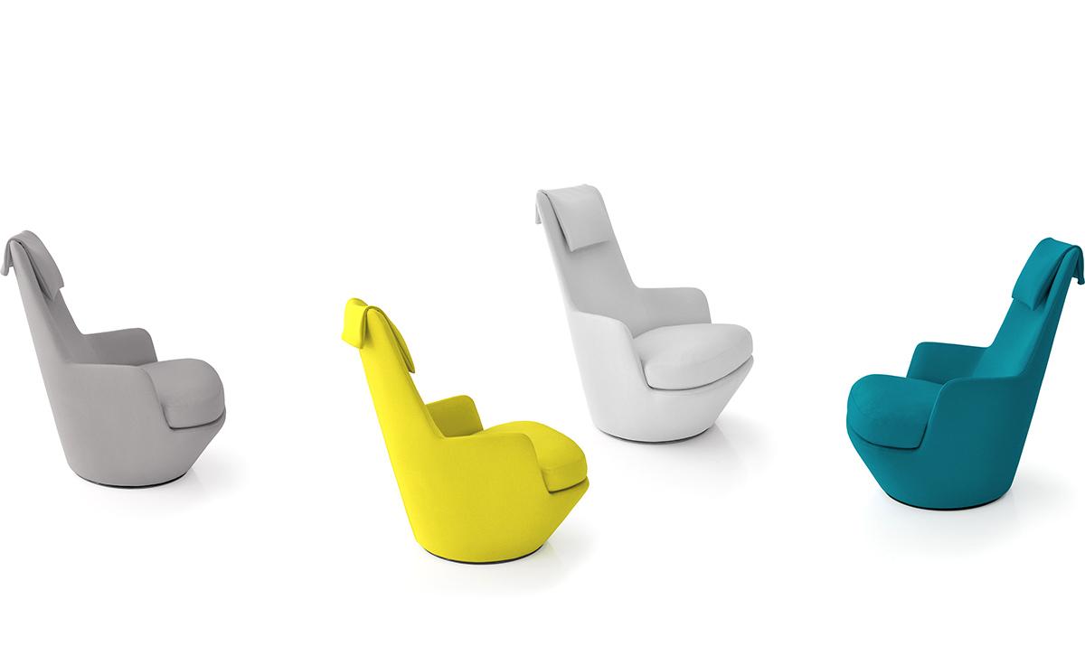 Hi Turn Lounge Chair Hivemodern Com