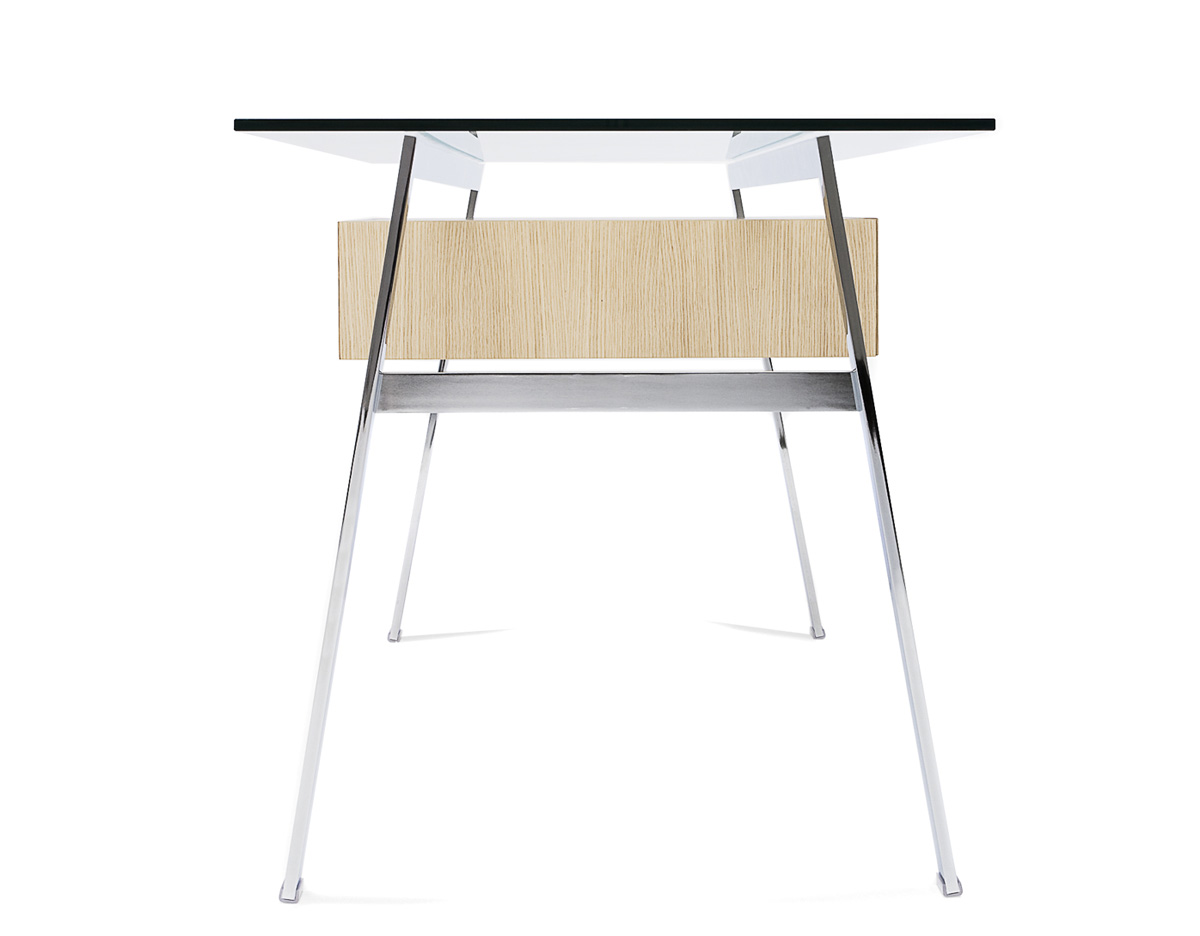 Homework 1 Desk With Glass Top