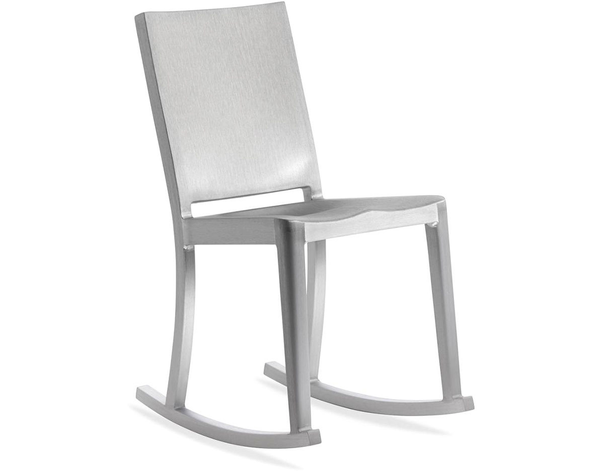 Emeco hudson rocking chair for Philippe starck chair