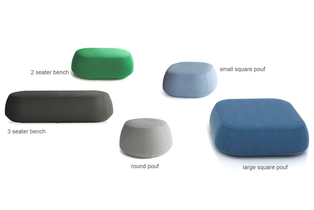 overview . ile small square pouf   hivemoderncom
