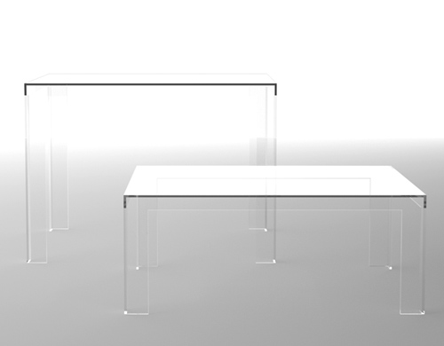 Invisible Table Hivemoderncom - Kartell invisible coffee table