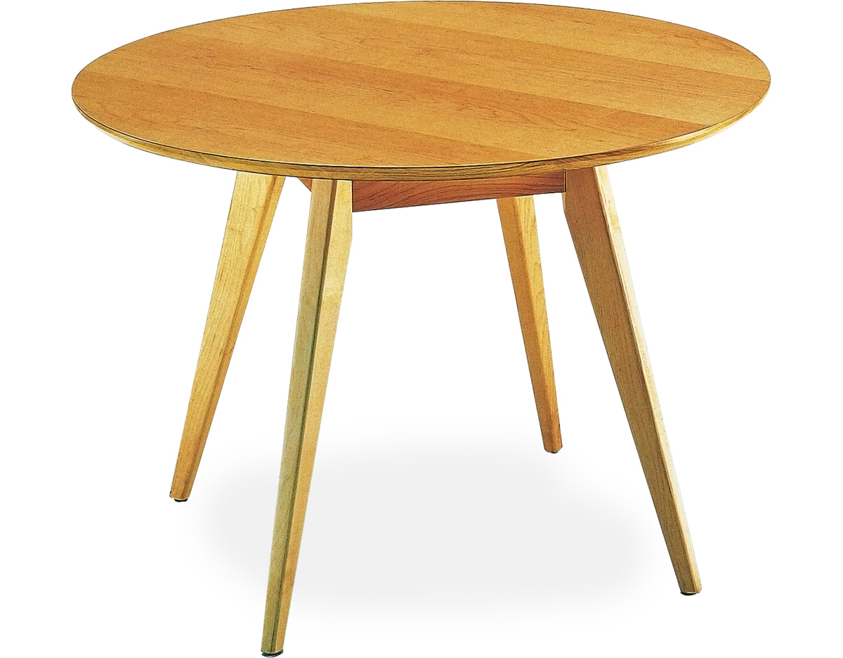 Jens risom dining table hivemodern overview geotapseo Choice Image