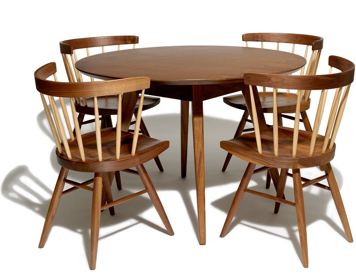 jens risom dining table. Black Bedroom Furniture Sets. Home Design Ideas