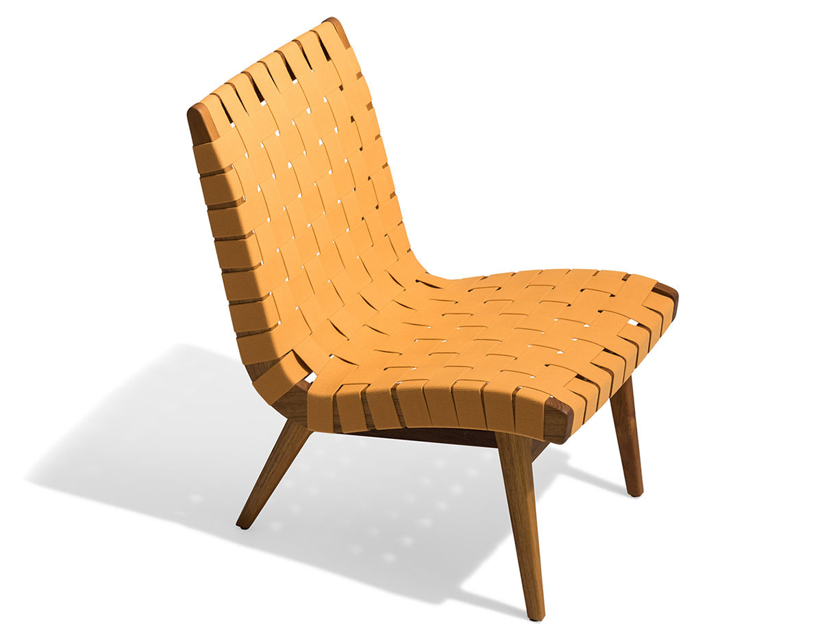 Jens Risom Outdoor Lounge Chair Hivemodern Com