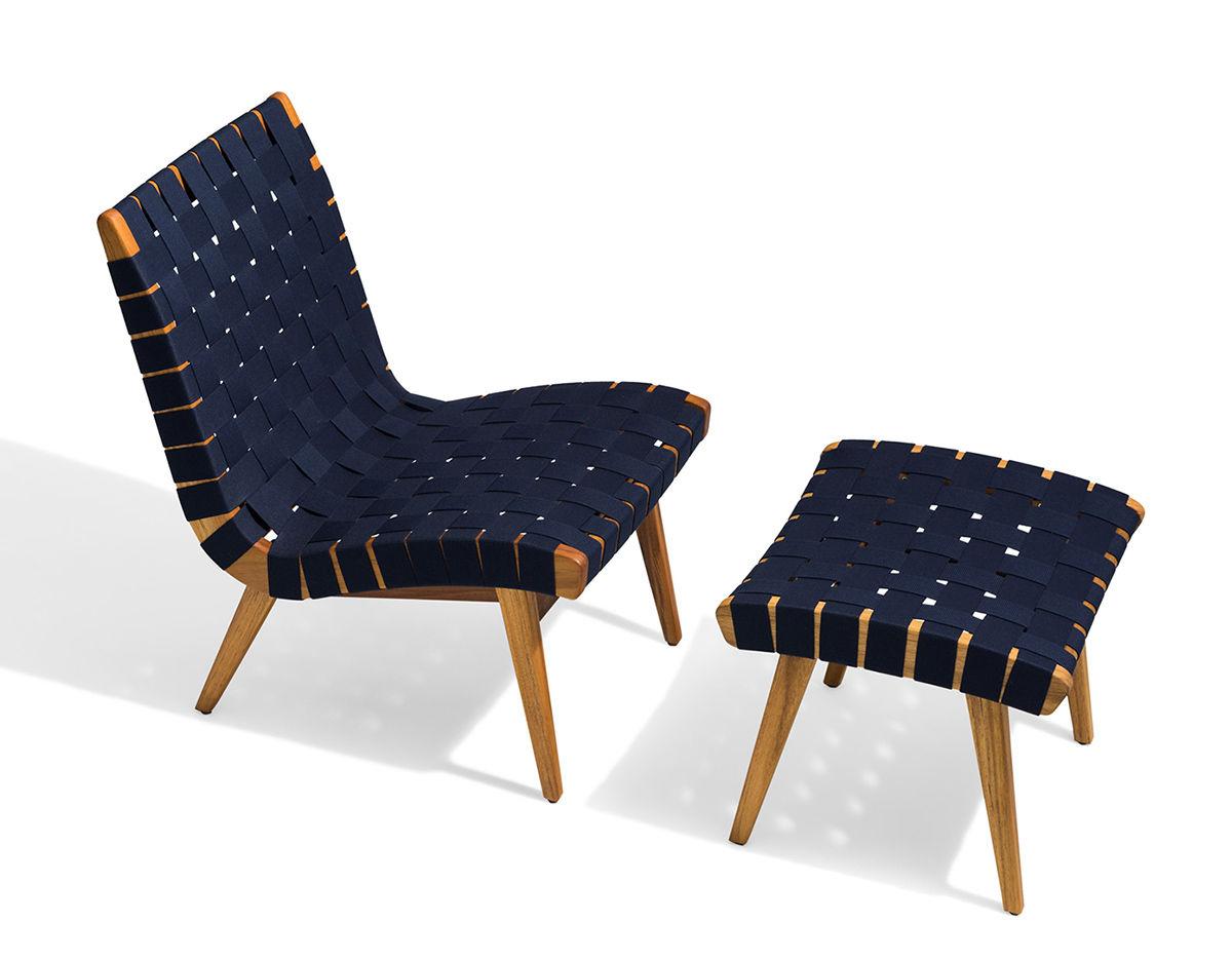 Wondrous Jens Risom Outdoor Lounge Chair Customarchery Wood Chair Design Ideas Customarcherynet